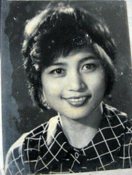Diễn viên Kim Xuyến thời trẻ